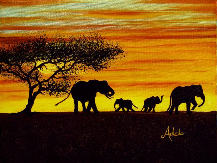 Elephant - Adele's Art