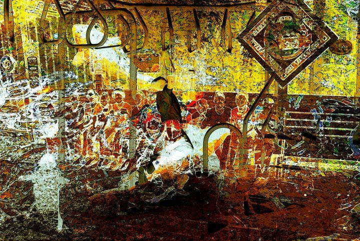 The Spectacle - Fine Art by Gabriel K. Jeane