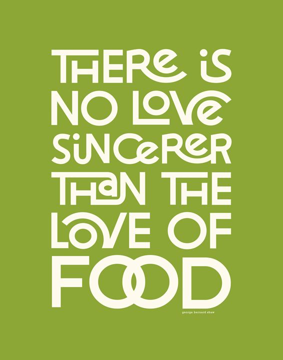 Sincere Love in Food •Green - Megan Romo