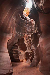 walkway in Antelope Canyon