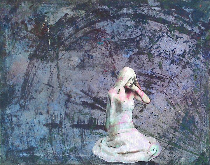 Apathy - Megan Henrich Original Mixed Media & Abstract Art