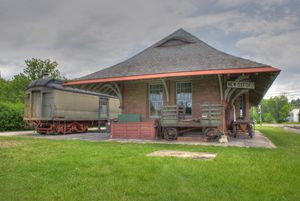 train station in Pa