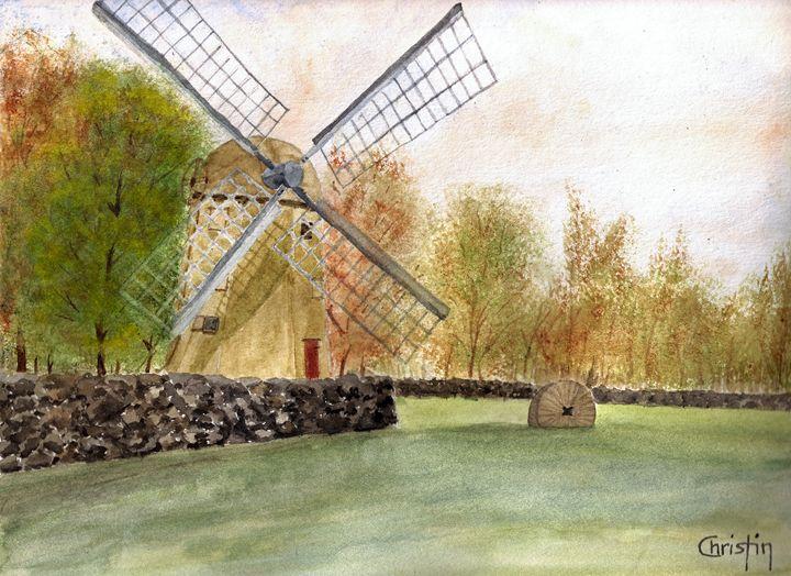The Jamestown Windmill - CC ARTWORK