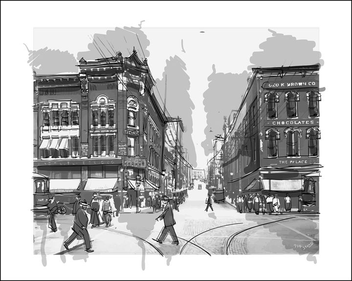 Seventh and Market Streets - Picnooga
