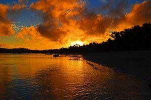 Fiji / Mana Island - Sunset
