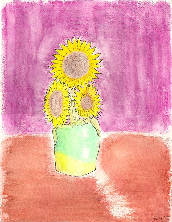 SunFlowers - Chris. S. WooT!en