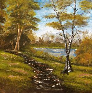 Worn Woodland Path