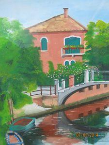 A bridge in Venice