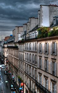 Autumn Rain Paris France