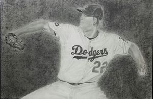 Dodgers Clayton Kershaw Cocking