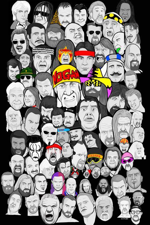 wrestling superstars -  Niles2209