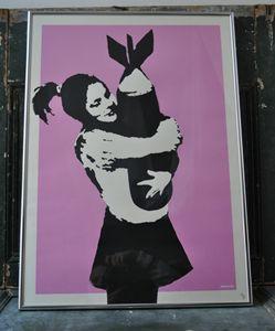 Banksy - Bomb Love