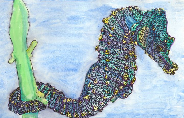 under the sea - Ben Roback's Art