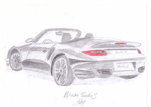 Porsche 911 Turbo S Raw