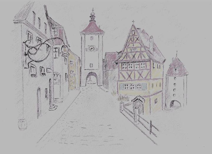 Rothenburg, Germany - Ernie Westfall