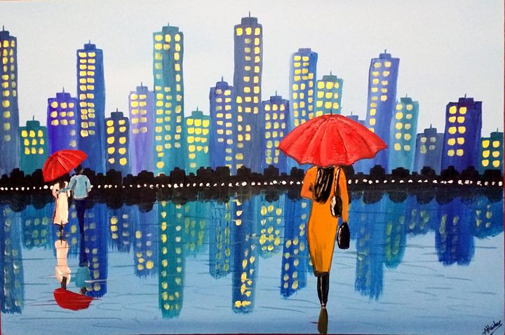 City Rain - Aisha Haider