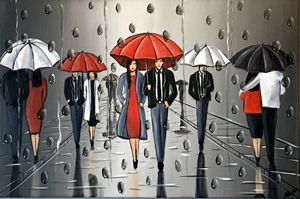 Umbrellas And The Rain 2