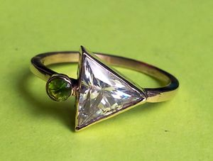 14. yellow gold ring - SOLD