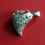 secret holder half heart