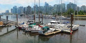 Vancouver Boats in Dock