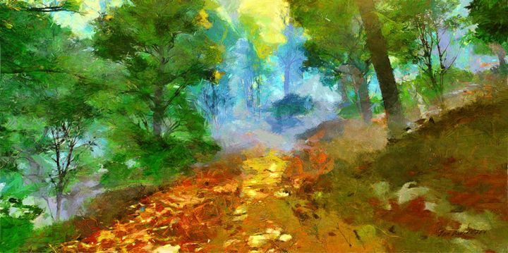 Early Morning Path - Artistic Visions