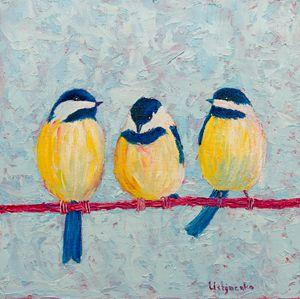 Conversations. Birds. Titmouse - WombArt