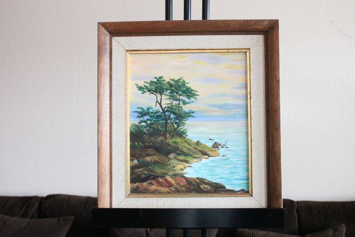 Ocean View by the clip - Harper - Erman Agustin Cruz Art Gallery