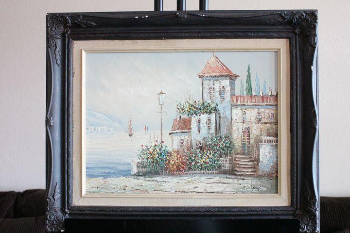 Lakeside House by R.Danford - Erman Agustin Cruz Art Gallery
