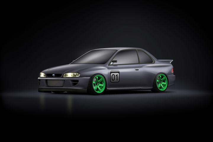 Subaru Impreza Coupe GC8 - Cars