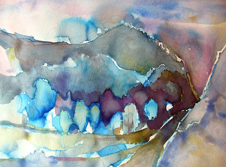 winter landscape - ArtDecorStudio