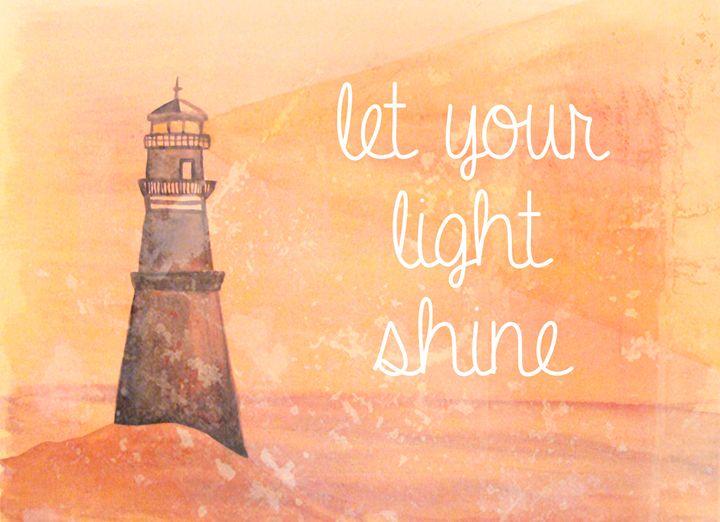 Let Your Light Shine - Bluebells & Butterflies