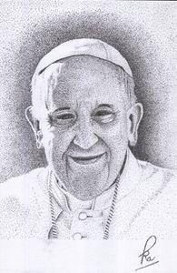 POPE FRANCIS - POINTILLISM