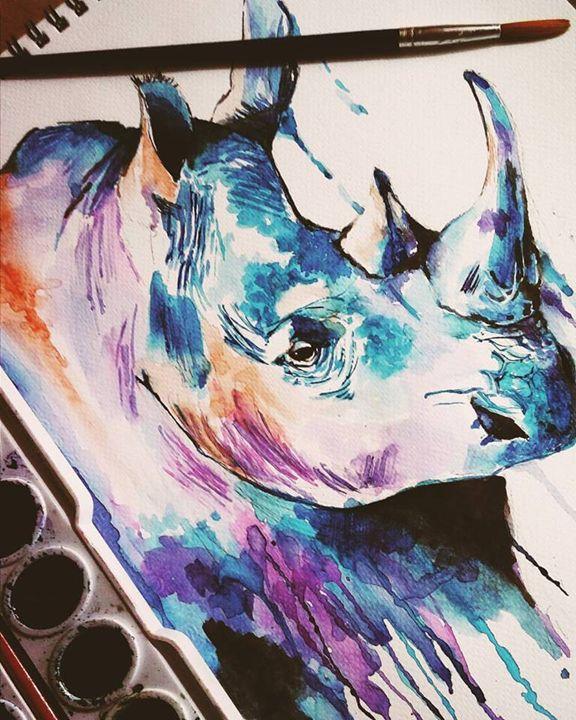 Blue Rhino - Mae de Dios