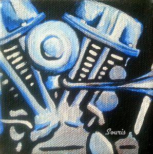 Panhead Blue