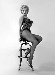 Blond bomb shell marilyn Monroe star