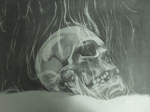 The Smoking Skull
