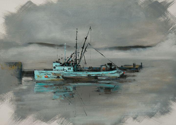 Sitka Fishing Boat - Philip Lodwick Wilkinson