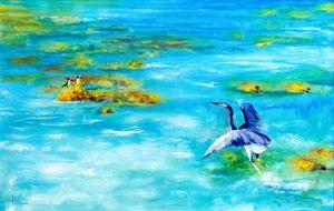 Dance of the Blue Heron