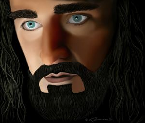 """Thorin Oakenshield """"I Will Not Part"""""""