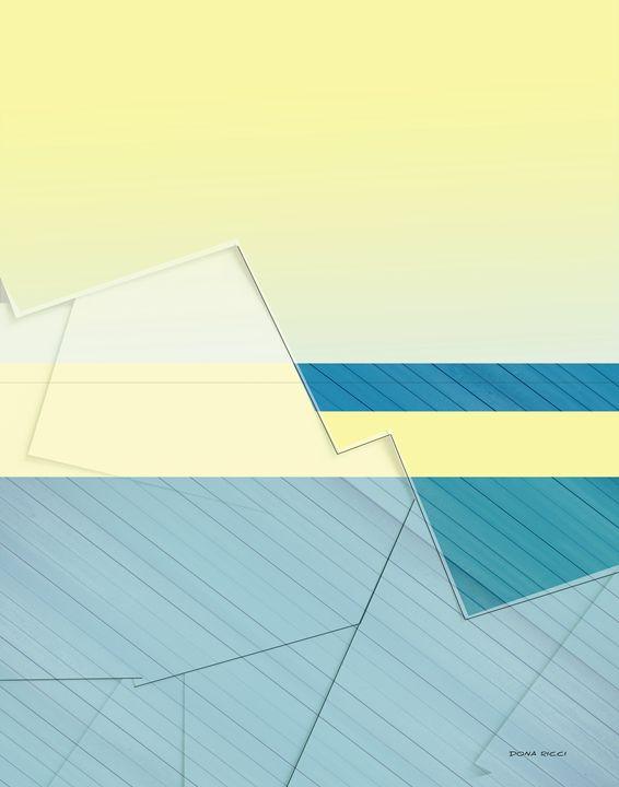 Blue and Yellow - 2014 - Dona Ricci