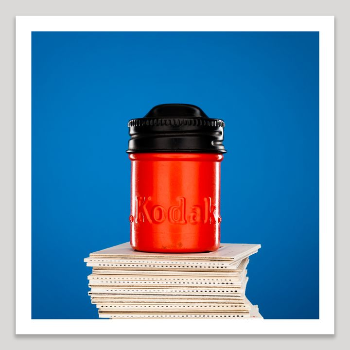 Kodak Red Film Canister - Dave Shafer Fine Art