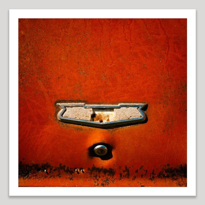 Red Chevy - Dave Shafer Fine Art