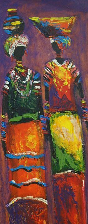 Mothers of Africa II - African Treasures