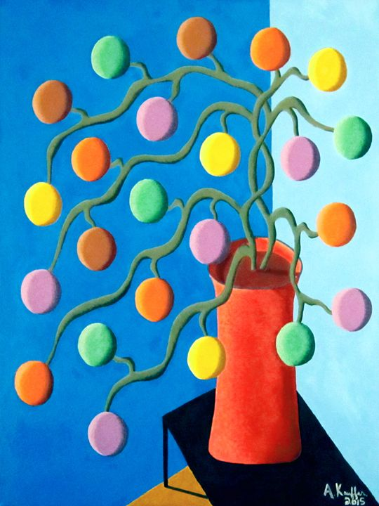 The Candy Tree - Artwork By AK