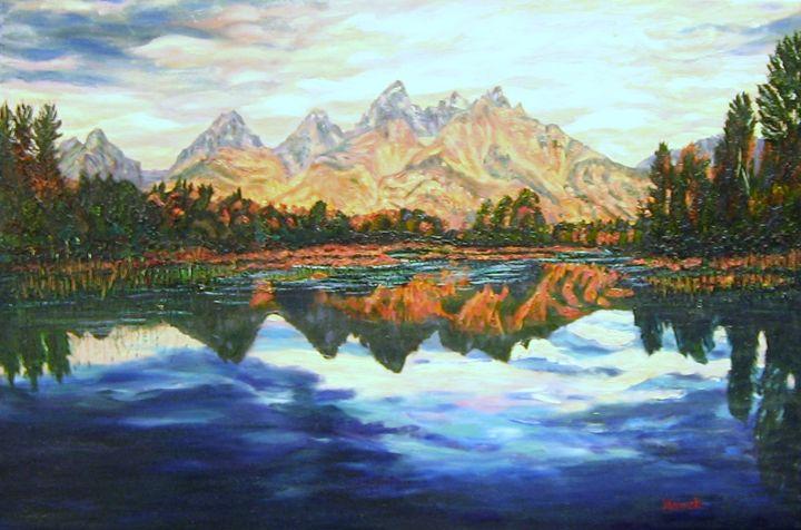 Titons Reflections - Richard Nowak Fine Art