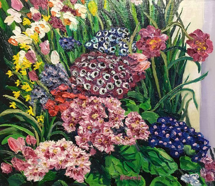 Smith College Spring Flower Show - Richard Nowak Fine Art