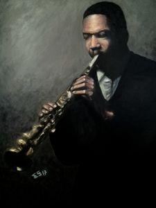 Jazz Man Coltrane