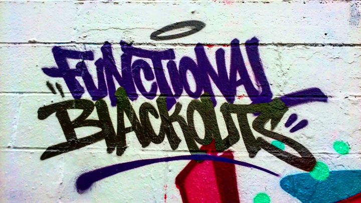 Functional Blackouts - Aroura Abstract Art
