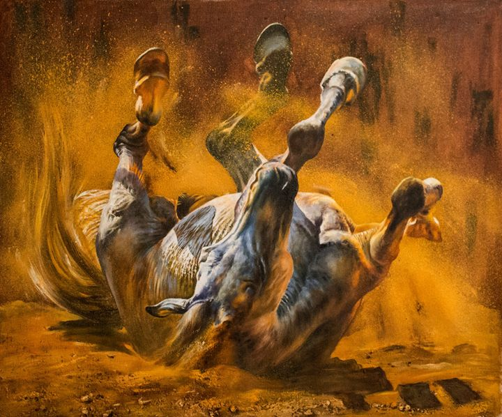 Horse ,large painting - Artgallery