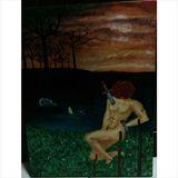 31x41cm canvas painting